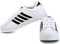 Sparx SD0323G Canvas Shoes For Men(White, Black)
