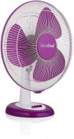 View Greenchef Table Fan Purple - Swing 3 Blade Table Fan(Purple) Home Appliances Price Online(Greenchef)