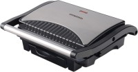 CONCORD Sandwich Maker / Grill (1000 W with Oil Drip Tray) Grill(Silver)