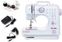 View Hemdec MHDR-505 12 built-in Stitch Pattens Electric Sewing Machine( Built-in Stitches 12) Home Appliances Price Online(Hemdec)