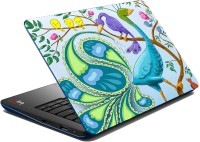 View meSleep Peacock Vinyl Laptop Decal 15.6 Laptop Accessories Price Online(meSleep)