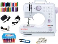 View Hemdec MHDR-505 12 built-in Stitch Pattens CMB01 Electric Sewing Machine( Built-in Stitches 12) Home Appliances Price Online(Hemdec)