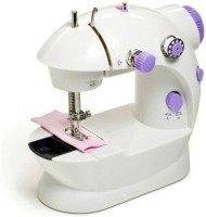 View Quins Mini 4 in 1 Compact & Portable Quins14 Electric Sewing Machine( Built-in Stitches 45) Home Appliances Price Online(Quins)