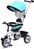 R for Rabbit Tiny Toes Sportz Green - The Stylish Plug N Play Tricycle For Babies Tricycle(Green, Black, White)