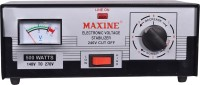 Maxine 140v - 270v Auto cut / Manual Voltage stabilizer for LED TV up to 60 inches(Black)