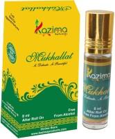 KAZIMA Mukhallat Rollon Attar 8 ML - Pure Natural Perfume for Unisex Floral Attar(Floral)