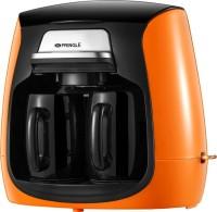 Pringle CM-2100 2 Cups Coffee Maker(Orange, Black)