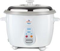 Bajaj Majesty New RCX 5 Electric Rice Cooker(1.8 L, White)