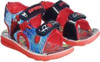 ARIHANT RETAILS Boys & Girls Velcro Sports Sandals(Red)