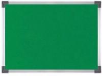 PERCEPTION GLOW Notice board or Pin up board Green Medium 2' feet x 1.5' foot Soft Board Bulletin Board(Green)