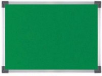 MANVATI Notice board or Pin up board Green Medium 2' feet x 1.5' foot Soft Board Bulletin Board(Green)