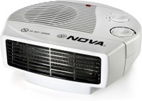 View Nova NH 1280 All in one silent Fan Room Heater Home Appliances Price Online(Nova)