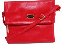 OZO Women Red PU Sling Bag