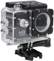 Style Maniac 2 inch LCD 12 megapixels Sports and Action Camera(Black 12 MP)