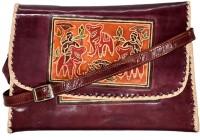 Estheticmind Sling Bag(Maroon, 7 L)