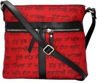 Estheticmind Sling Bag(Red, 7 L)
