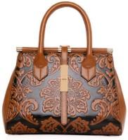 Tanned Hand-held Bag(Brown)