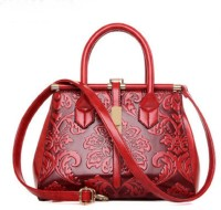 Tanned Hand-held Bag(Red)