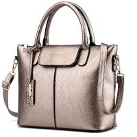 FuerDanni Hand-held Bag(Silver)