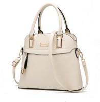 FuerDanni Hand-held Bag(Beige)