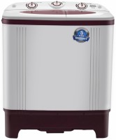 Intex 6.2 kg Semi Automatic Top Load Washing Machine Maroon, White(WMSA62RD)
