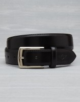 Metronaut Men Casual Black Texas Leatherite Belt