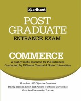 Post Graduate Entrance Examination Commerce(English, Paperback, Arihant Experts)