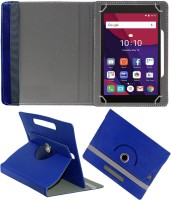 Fastway Book Cover for Alcatel Pixi 4 7 inch(Alcatel PIXI 4 (7) (8063) 8 GB 7 inch with Wi-Fi Only Tablet, Cases with Holder)