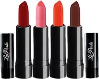 La Perla Multicolored Lipsticks(Set of 4)