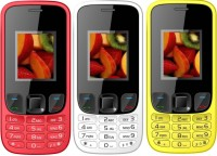 I Kall k29 Pack of Three(Red, White, Yellow)