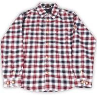 Indian Terrain Boy's Checkered Casual Shirt