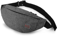 Aeoss Men Male Casual Functional Fanny Bag Waist Bag Money Phone Belt Bag Waist Bag(Grey)