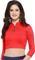 Janasya Band collar Women's Stitched Blouse