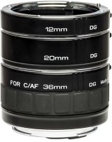 Kenko DG 12mm, 20mm, 36mm Set For Canon Adjustable Macro Extension Tube(Pack of 1)
