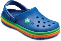 Crocs Boys Slip-on Clogs(Blue)