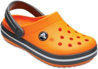 Crocs Boys Slip-on Clogs(Orange)