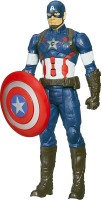 Bonkerz CAPTAIN AMERICA Avengers Infinity War Action Figure With Light Effects And Sounds(Multicolor)