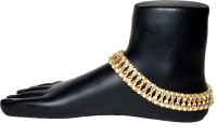 Jewels Kafe Kundan Alloy Anklet(Pack of 2)