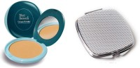 Blue Heaven Cream Powder 20 GM (Natural) with Compact Mirror(Set of 2) - Price 139 26 % Off
