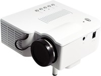 VibeX ™ Home Theater Games Cenima DVD PC Beamer 40 lm LED Corded Portable Projector(White)