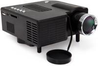 Wonder World ™ 24W Mini Multimedia LCD Image System LED with SD / USB / AV / VGA / HDMI Port 40 lm LED Corded Portable Projector(Black)