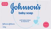 Johnson's Baby Soap with Baby Lotion & Vitamin E(100 g)