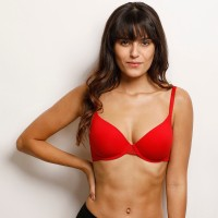 Zivame Pro Women Bralette Lightly Padded Bra(Red)