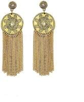 Fully Party Wear Long Earrings For Women & Girls / Jewellery For Women & Girls / Weddings Earrings For Girls Alloy Dangle Earring