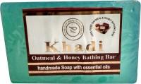Parvati Gramodyog Khadi Oatmeal Soap 125 gm (Pack of 1)(125 g) - Price 80 50 % Off
