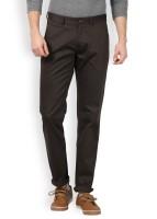 Arrow Sport Slim Fit Men's Dark Green Trousers
