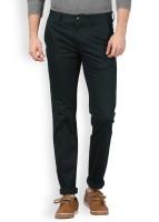 Arrow Sport Slim Fit Men's Blue Trousers