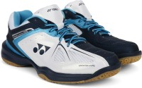 Yonex SHB35EX Badminton Shoes For Men(Blue, White)