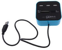 TECHON all in one combo card reader hub USB Adapter(assorted)