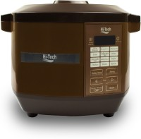 Hi-Tech 0102 Rice Cooker, Food Steamer, Travel Cooker, Egg Cooker, Egg Boiler(4 L, Brown)
